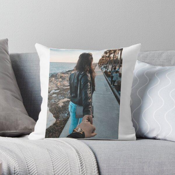 Sunset Seekers Throw Pillow