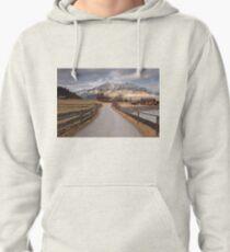 Bavarian Alps Path - 1/4 Pullover Hoodie