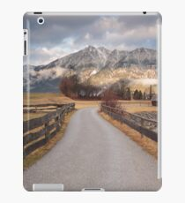 Bavarian Alps Path - 1/4 iPad Case/Skin