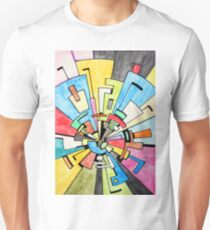 Abstract Tunnel Unisex T-Shirt