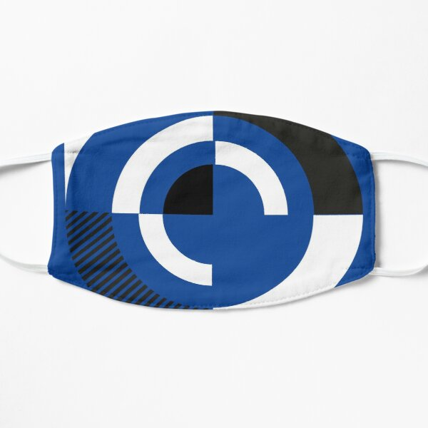 Blue Monday - New Order Typographic Poster Flat Mask