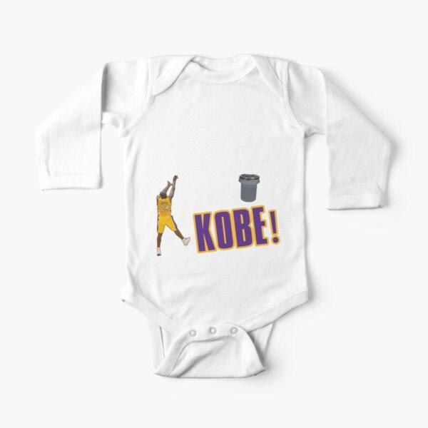 Camiseta de Kobe Bryant Body de manga larga para bebé