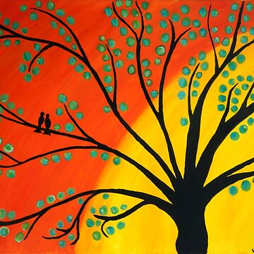 Birds in Tree by Ravasak