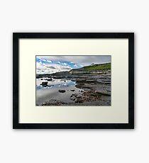 Back Beach - Lyme Regis Framed Print