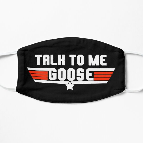 Talk To Me Goose Logo Design Mask