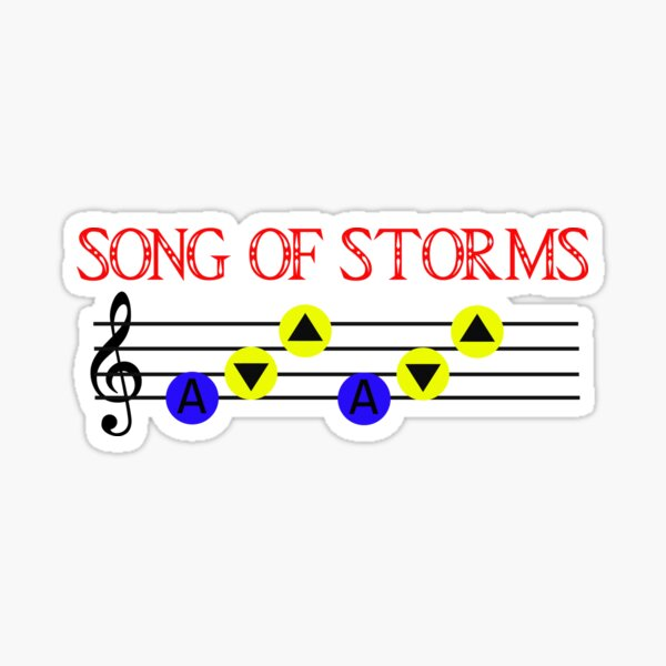 Song of Storms Sticker