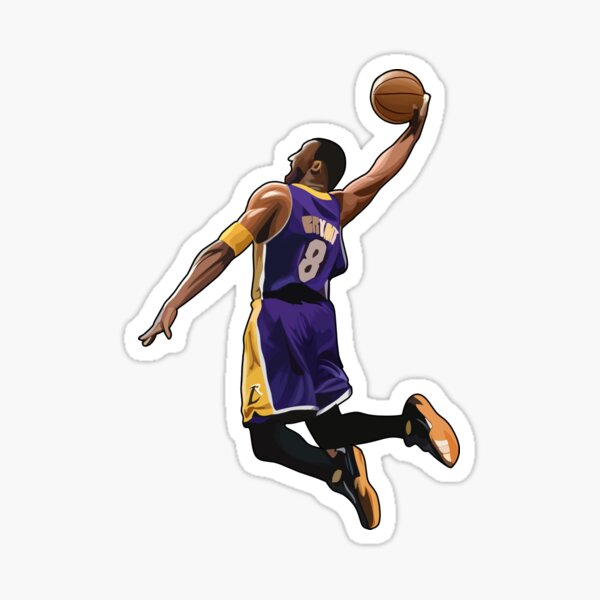 Kobe Bryant #24 Mamba Dunk Sticker