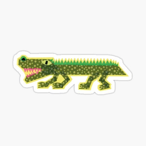 Tape Art Krokodil Sticker