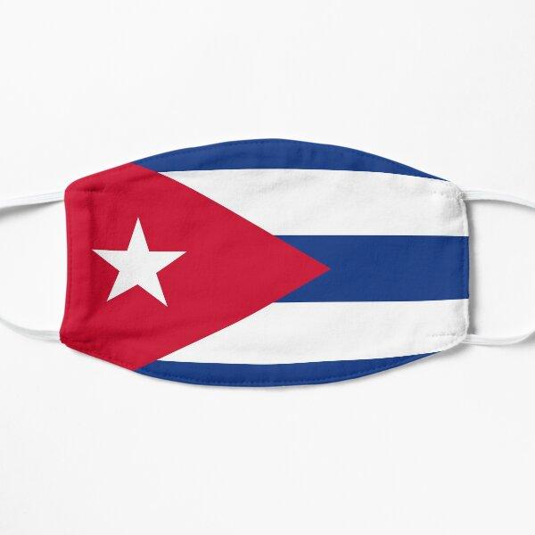 Bandera de cuba Mascarilla plana