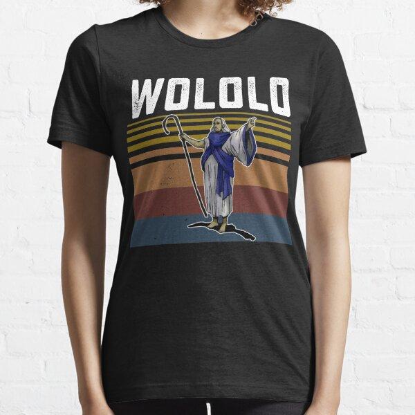 Retro Wololo blue Essential T-Shirt