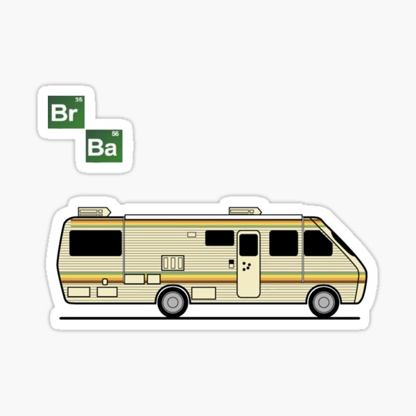 Caravana - Breaking Bad Pegatina