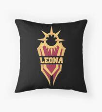 Leona's Shield  Throw Pillow