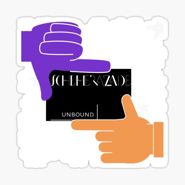 Scheherazade Unbound Sticker