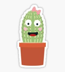 Cactus with ribbon Sticker
