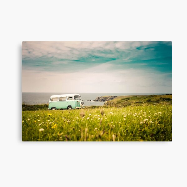Free life in a van photo Canvas Print