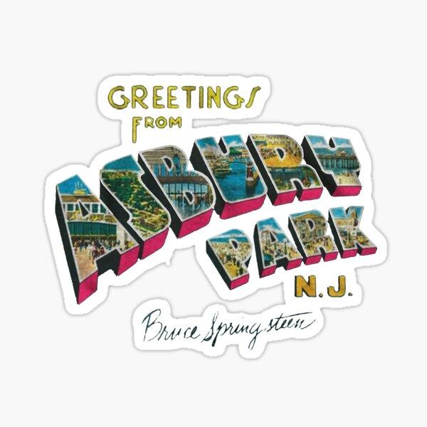 asbury park Sticker