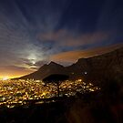 Table Mountain at Night by BlaizerB