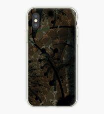 Forest Floor Art Texture iPhone Case