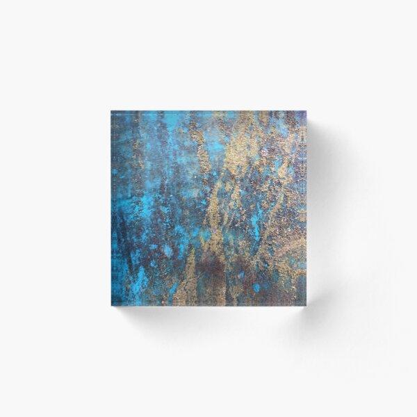 Beautiful Rust 4 Acrylblock
