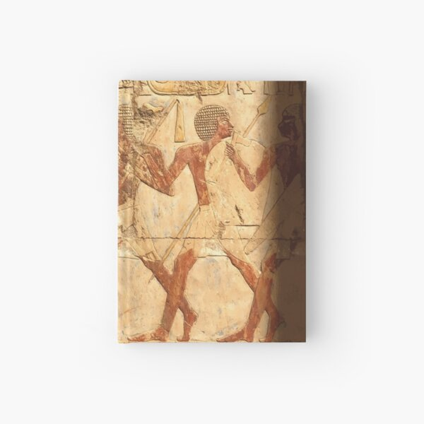 Ancient Egypt Hatshepsut Temple Procession Hardcover Journal