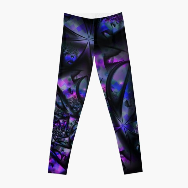 Purple Dreams Abstract Leggings