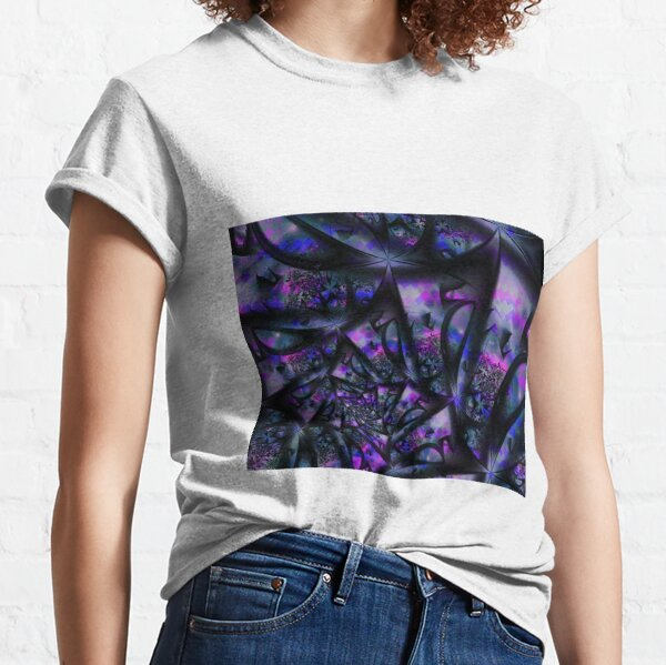 Purple Dreams Abstract Classic T-Shirt