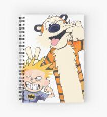 calvin and hobbies Spiral Notebook