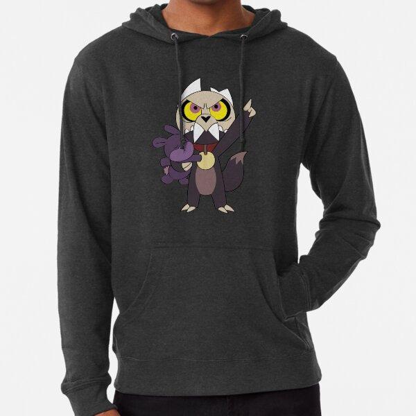 owl house king and rabbit plush Lightweight Hoodie