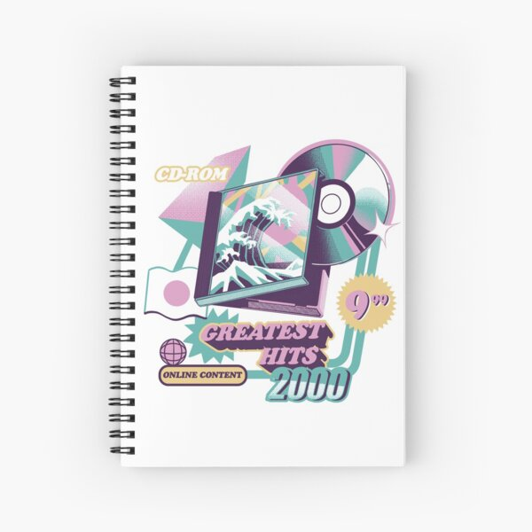 Japanese Greatest Hits Spiral Notebook