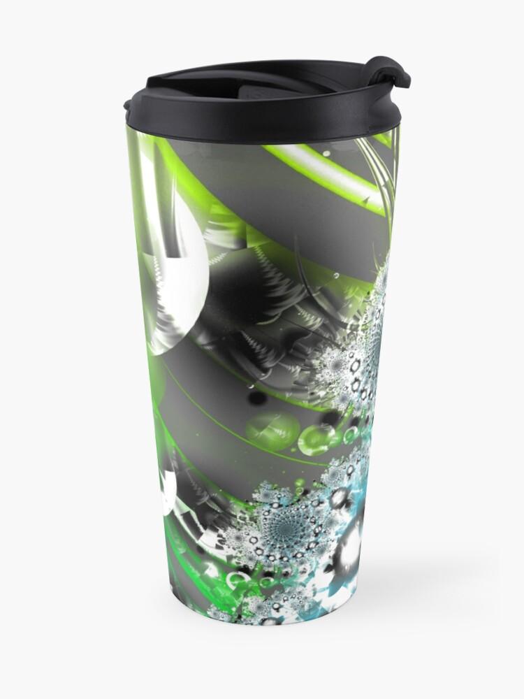 Alternate view of Vector Forest Art Travel Mug