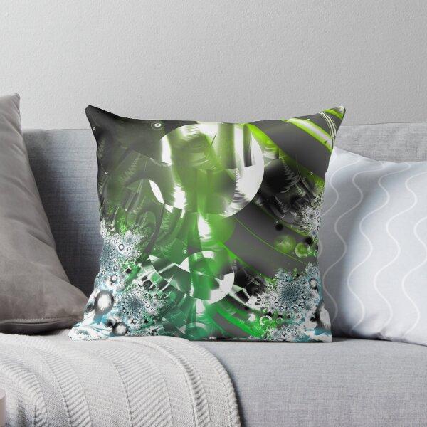 Vector Forest Art Throw Pillow