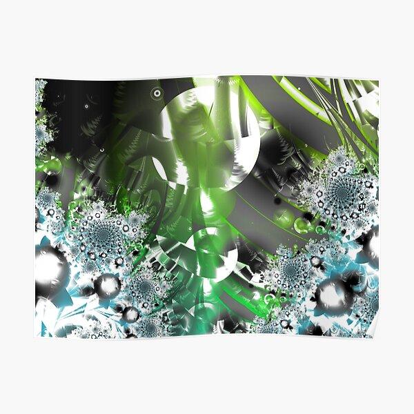Vector Forest Art Poster