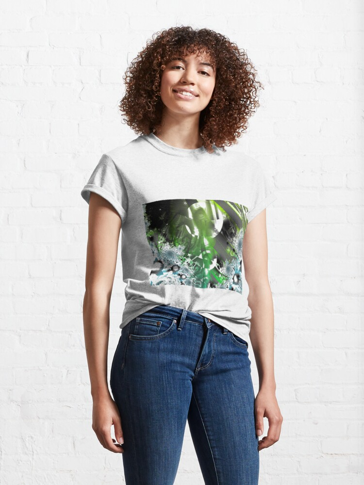 Alternate view of Vector Forest Art Classic T-Shirt