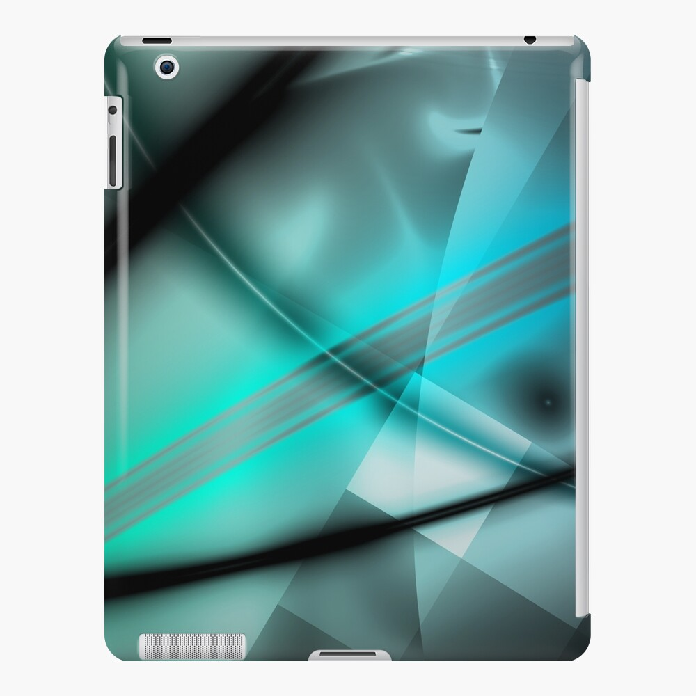 Blue Minimalist Art iPad Case & Skin