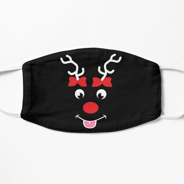 Reindeer Christmas design  Flat Mask