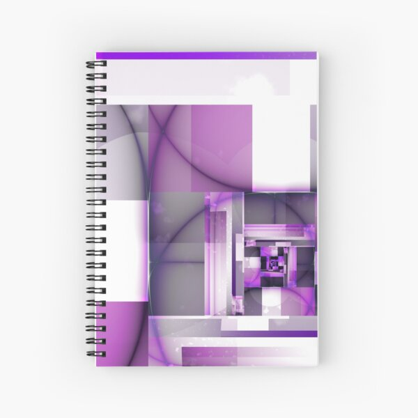City of Pink Spiral Notebook