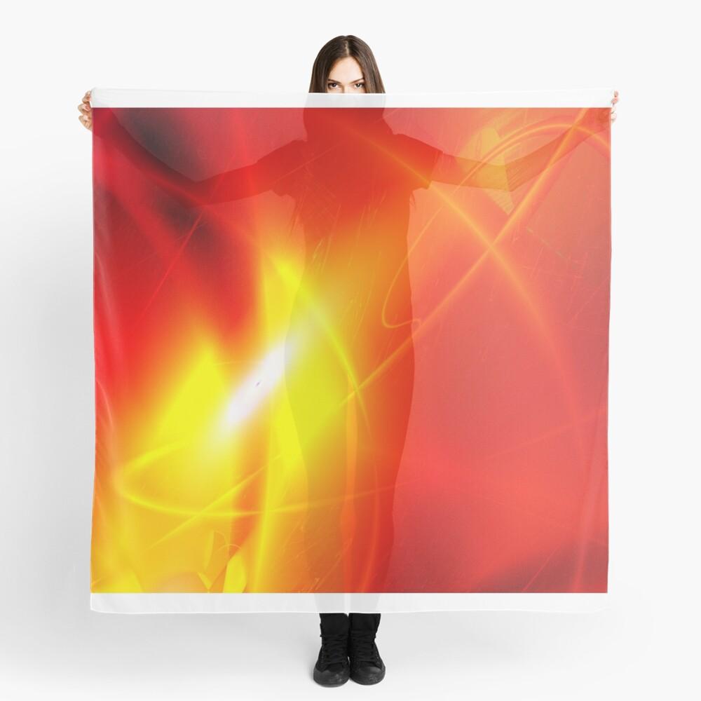 Fire Conceptual Art Scarf