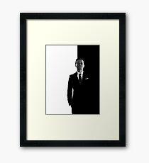 Sherlock BBC - Moriarty Framed Print