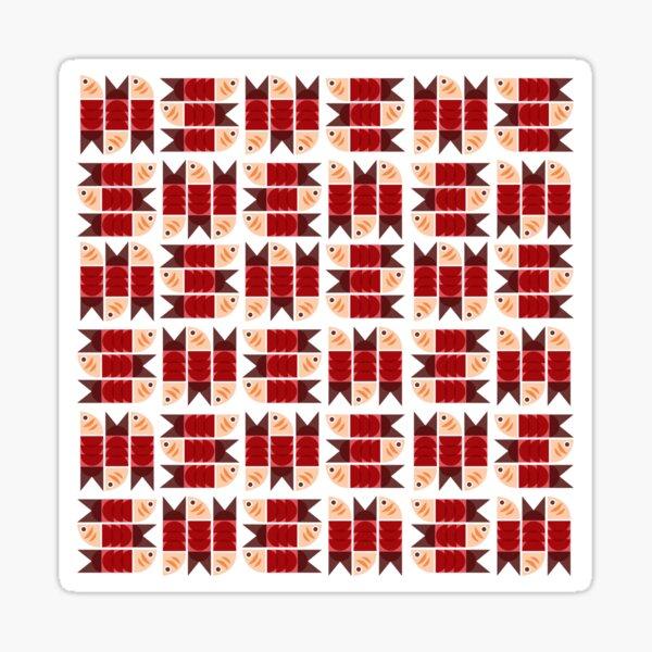 Red Fish Sticker