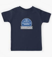 Welcome to Angkor Wat, Siem Reap, Cambodia Kids Tee