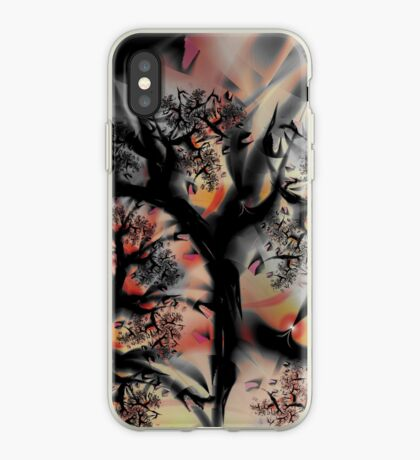 Fractal Forest - Tree Art iPhone Case