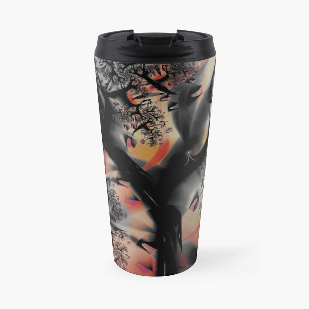 Fractal Forest - Tree Art Travel Mug