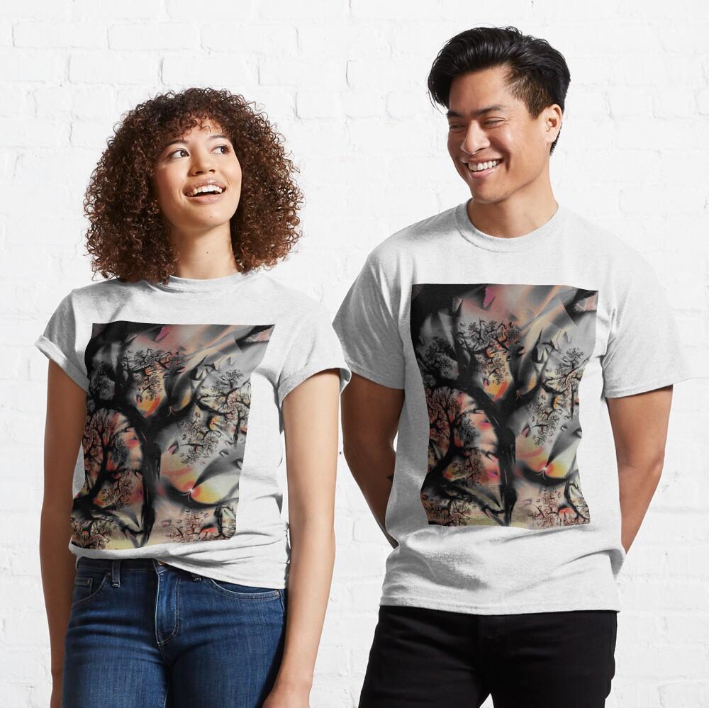 Fractal Forest - Tree Art Classic T-Shirt