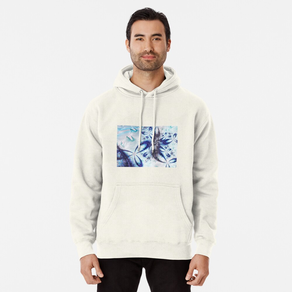 Ice Spiral  Pullover Hoodie