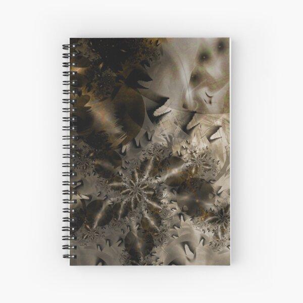The Badlands Space Art Spiral Notebook