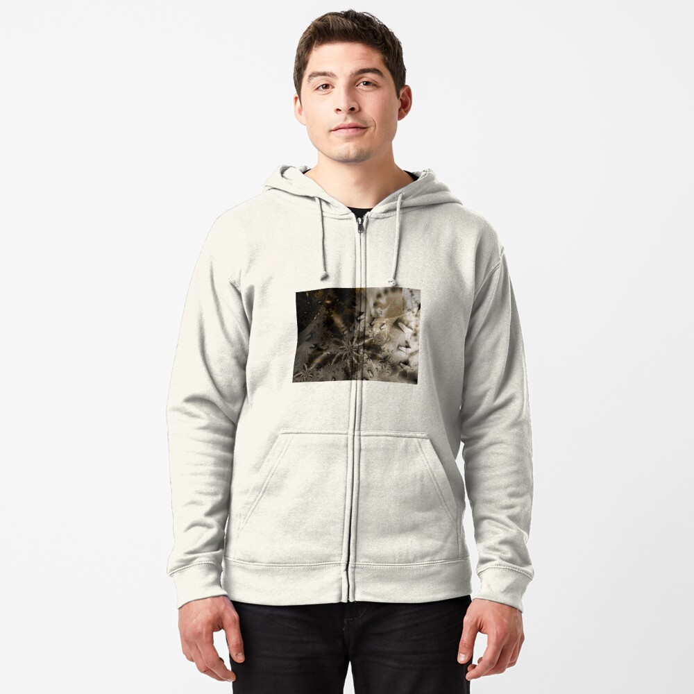 The Badlands Space Art Zipped Hoodie