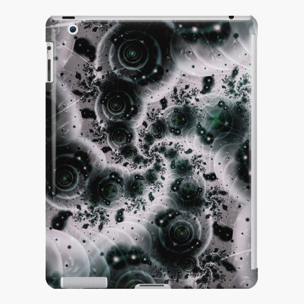 White Spiral Futuristic Art iPad Snap Case