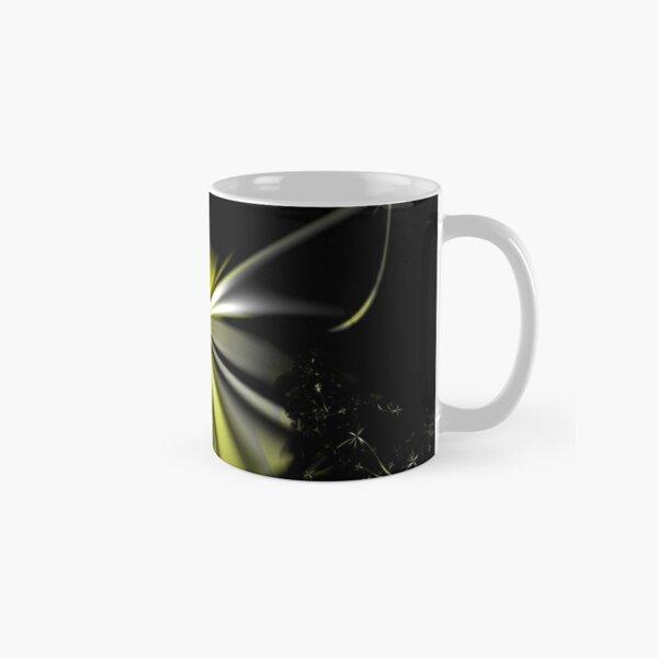 Yellow Flower Abstract Classic Mug