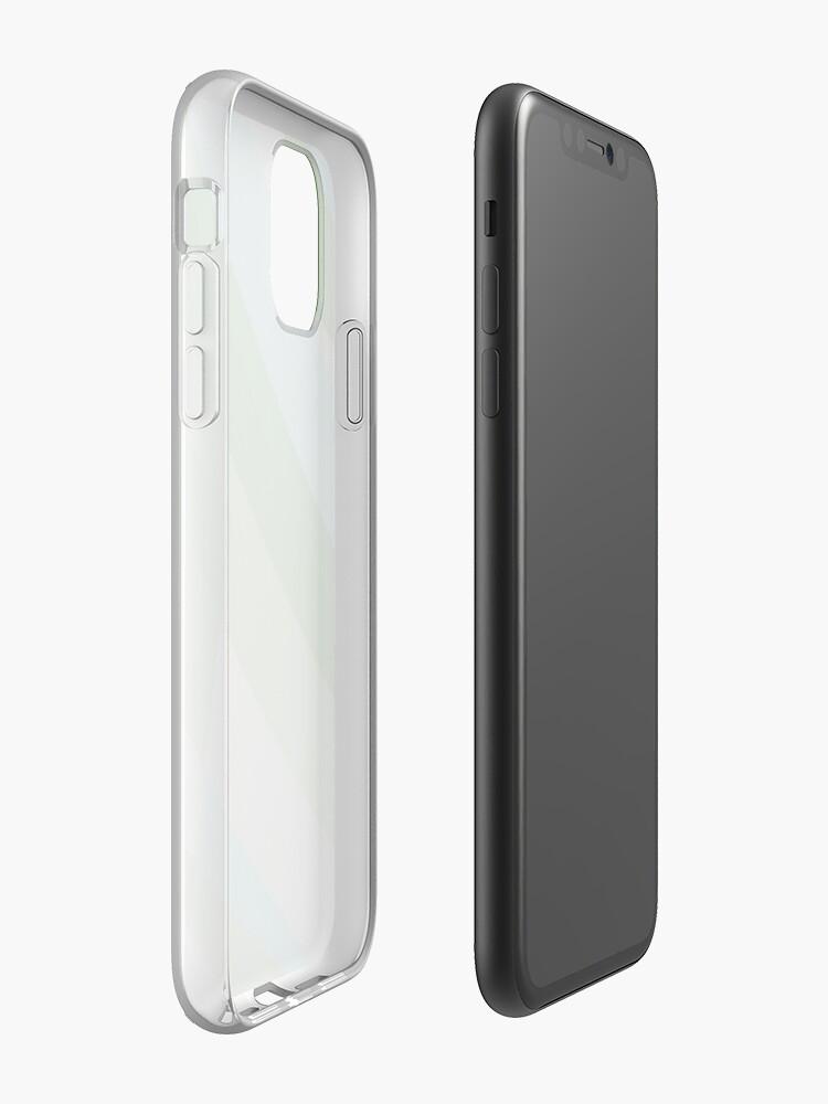 Alternate view of Leopard Zebra Pattern Green Blue Gray iPhone Case & Cover
