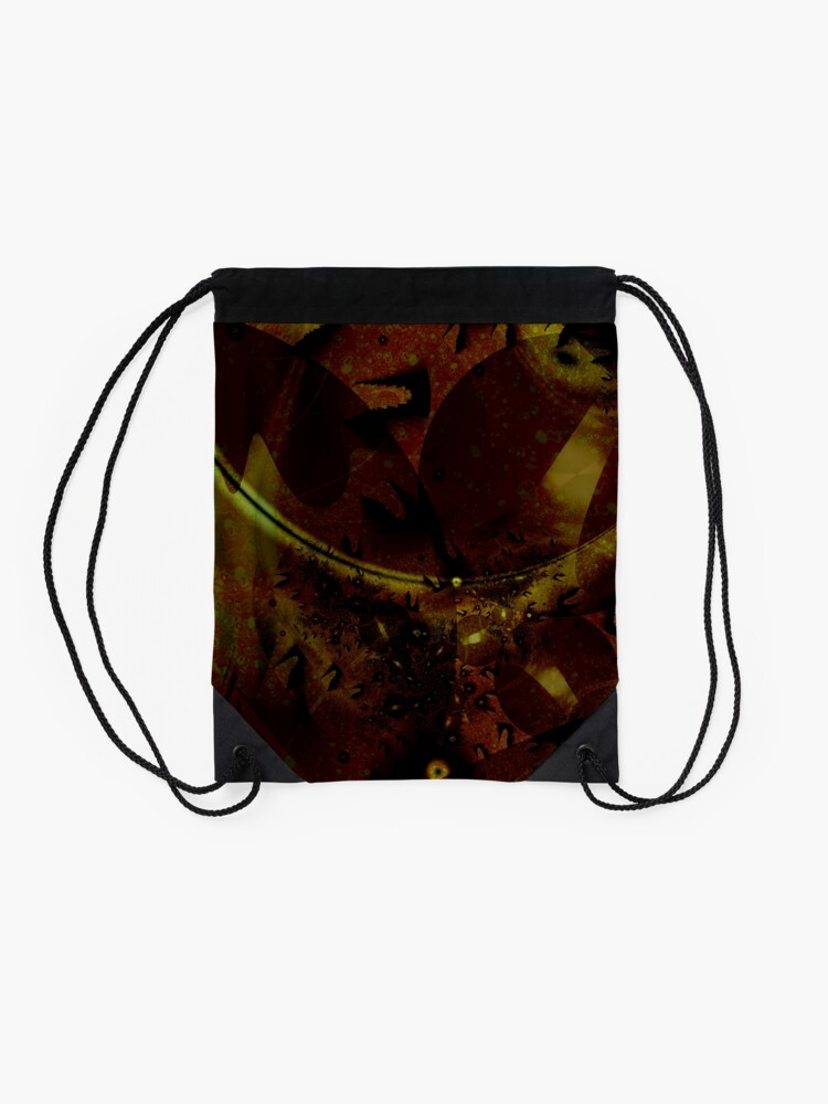 Alternate view of Euclidean Geometry Drawstring Bag